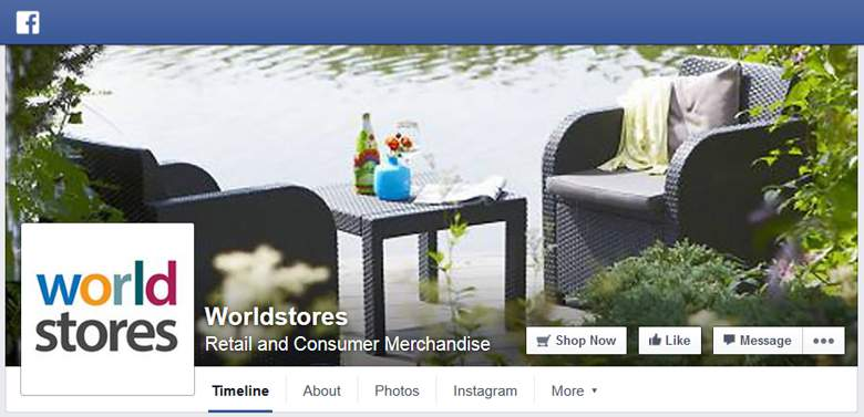 Worldstores on Facebook