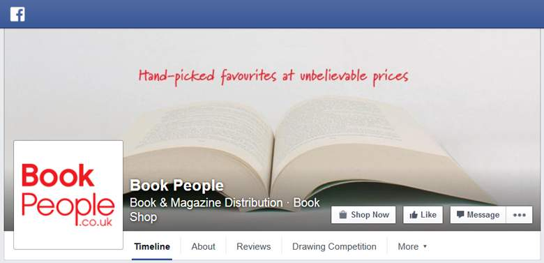 The Book People on Facebook