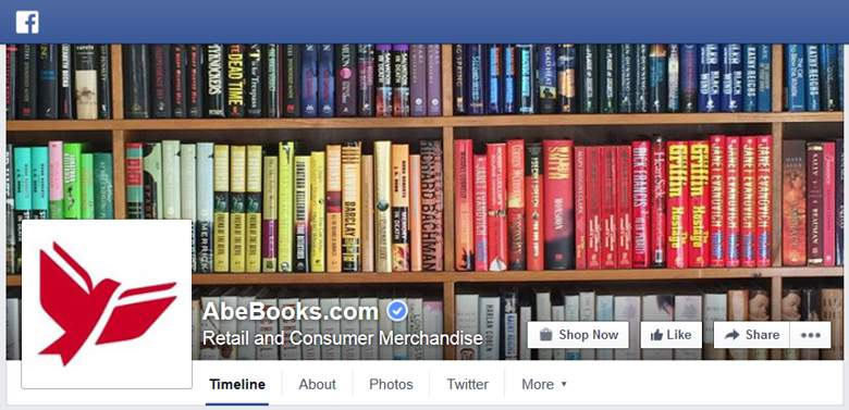 AbeBooks on Facebook