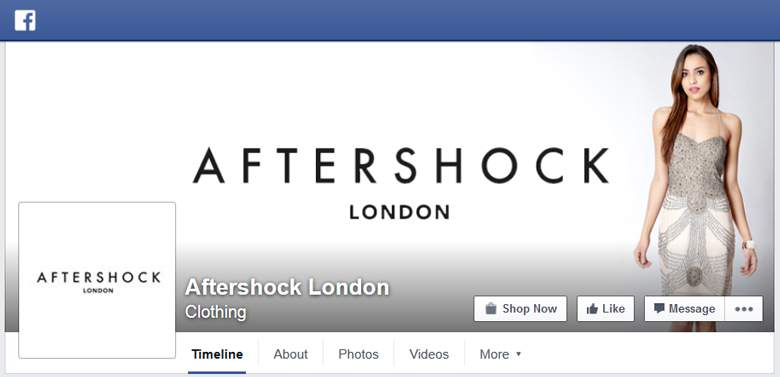 Aftershock on Facebok