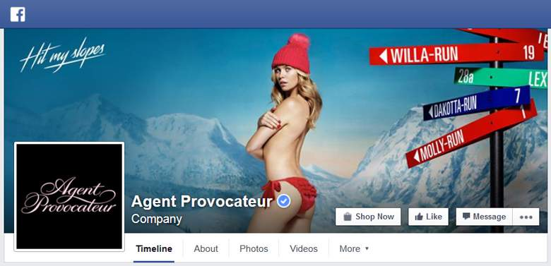 Agent Provocateur on Facebook