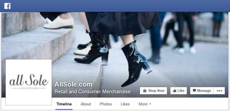 Allsole on Facebook