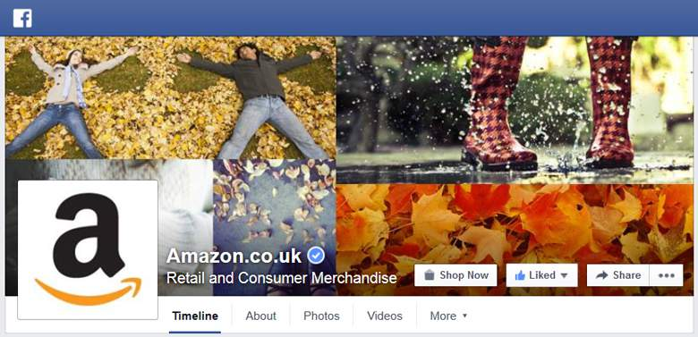 Amazon on Facebook
