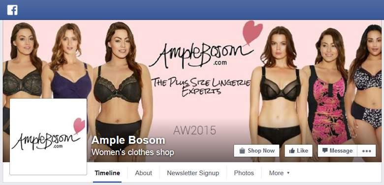 Ample Bosom on Facebook