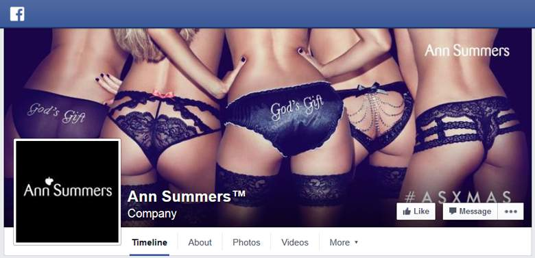 Ann Summers on Facebook