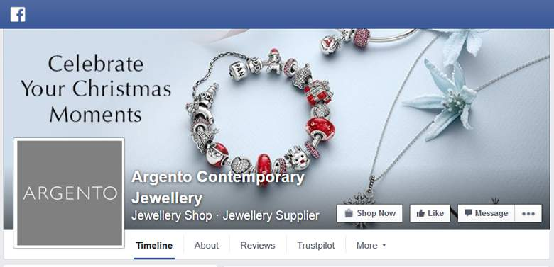 Argento on Facebook