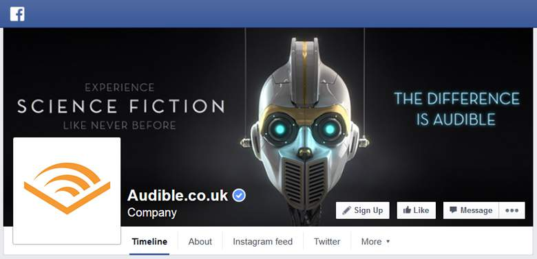 Audible on Facebook