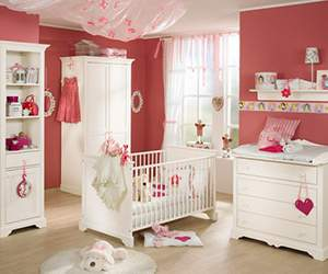 Nursery furniture by Babies R Us