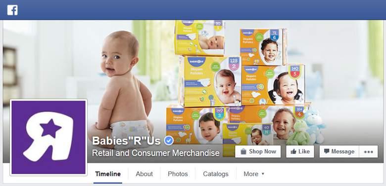 Babies R Us on Facebook