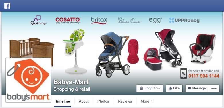 Babys Mart on Facebook