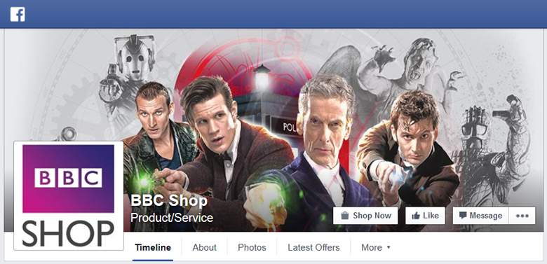 BBC Shop on Facebook