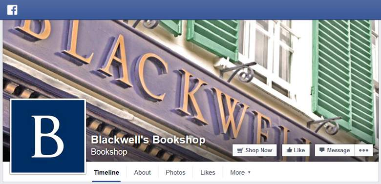 Blackwell on Facebook