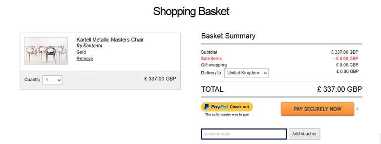 Bouf shopping basket