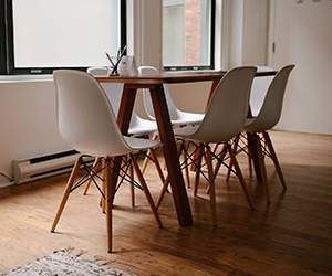 Chairs by Bouf
