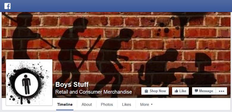 Boys Stuff on Facebook