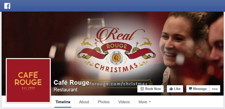 Cafe Rouge on Facebook