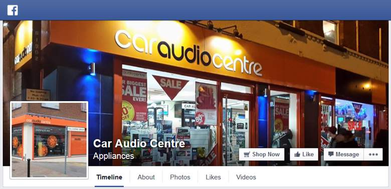 Car Audio Centre on Facebook
