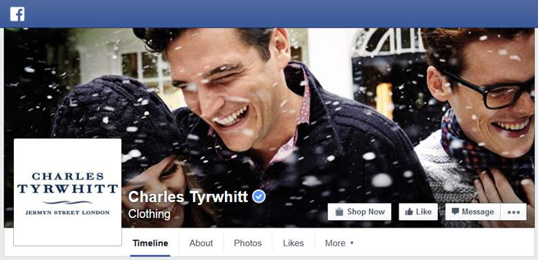 Charles Tyrwhitt on Facebook