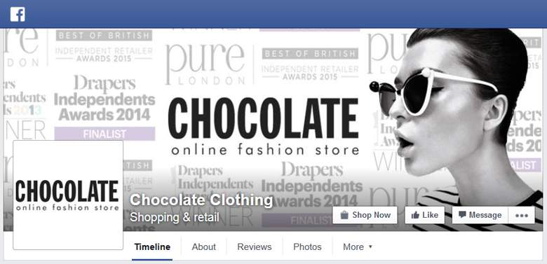 Chocolate Clothing on Facebook