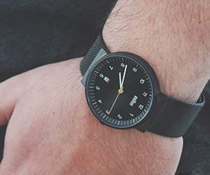 Men's watch by Clicktime