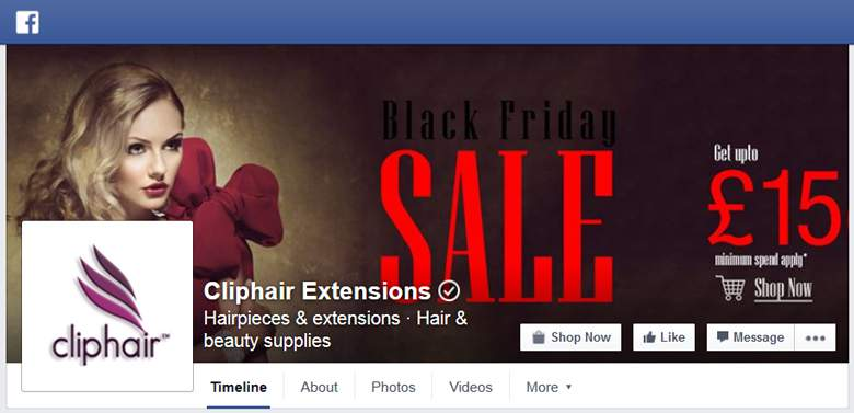 ClipHair on Facebook