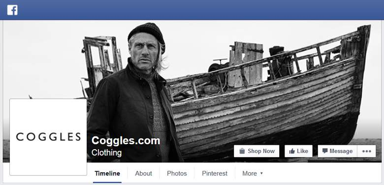Coggles on Facebook