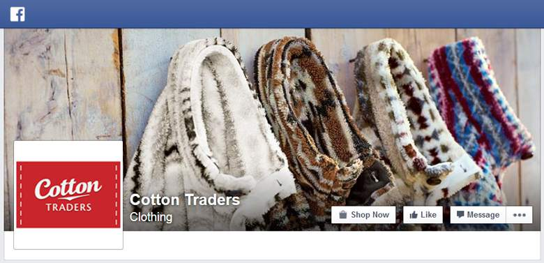 Cotton Traders on Facebook