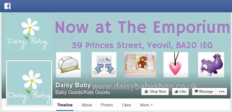 Daisy Baby Shop on Facebook