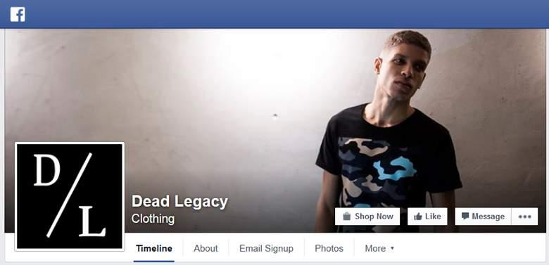 Dead Legacy on Facebook