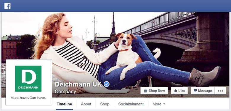 Deichmann on Facebook
