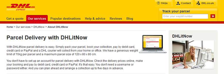 DHL Page
