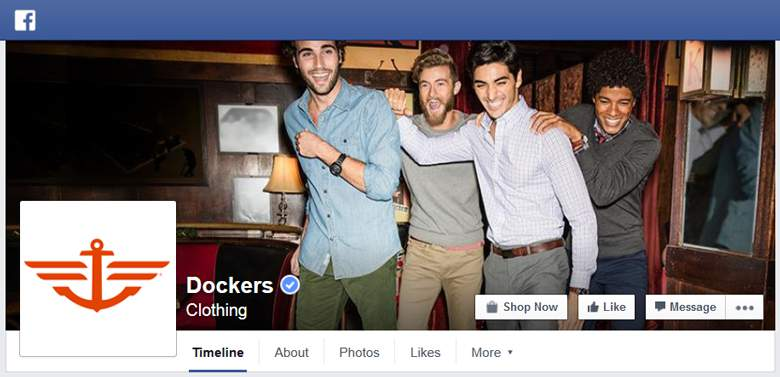 Dockers on Facebook