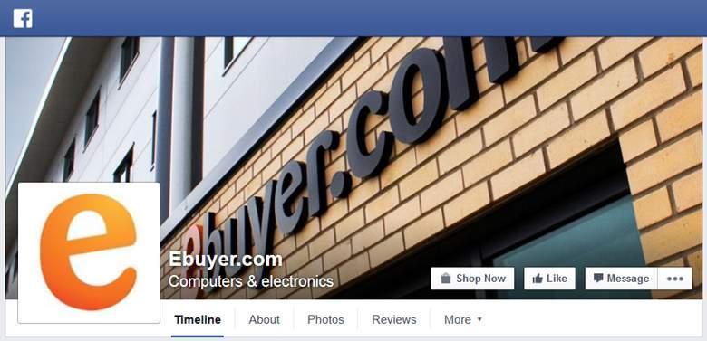Ebuyer on Facebook