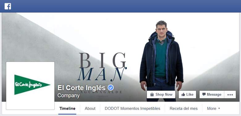El Corte Ingles on Facebook