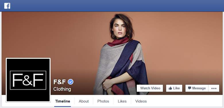 F&F on Facebook