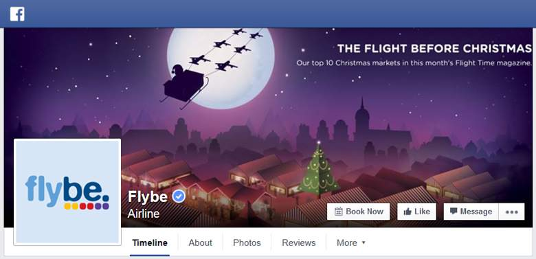 Flybe on Facebook