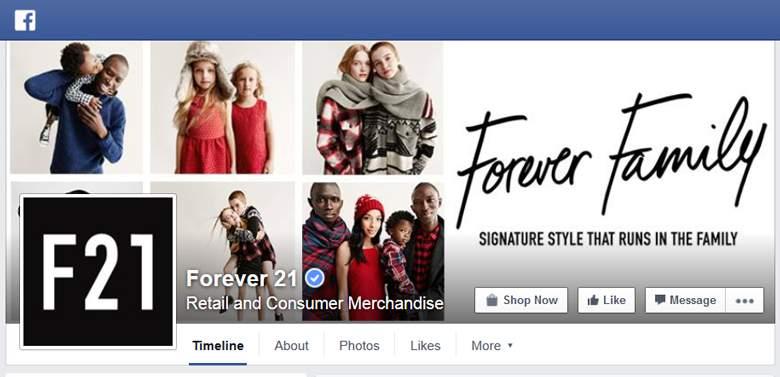 Forever 21 on Facebook