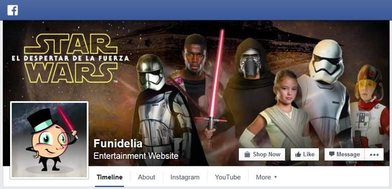Funidelia on Facebook
