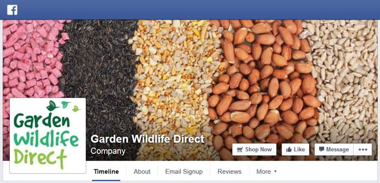 Garden Wildlife Direct on Facebook