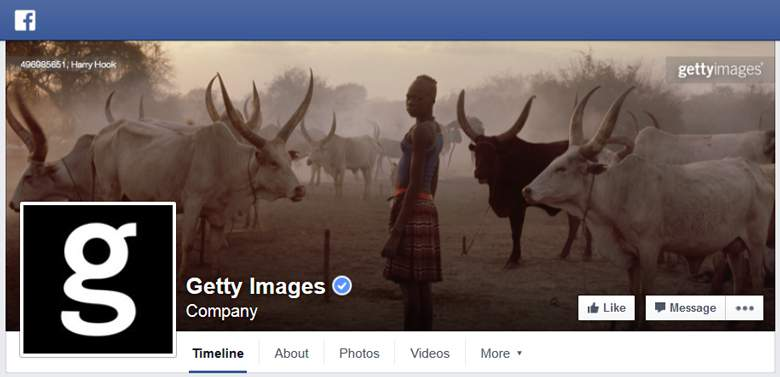 Getty Images on Facebook