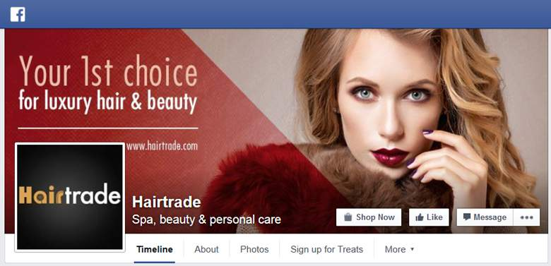 Hairtrade on Facebook