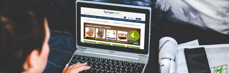 Shopping at Hamper.com