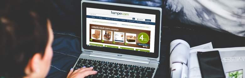Shopping at Hamper.com