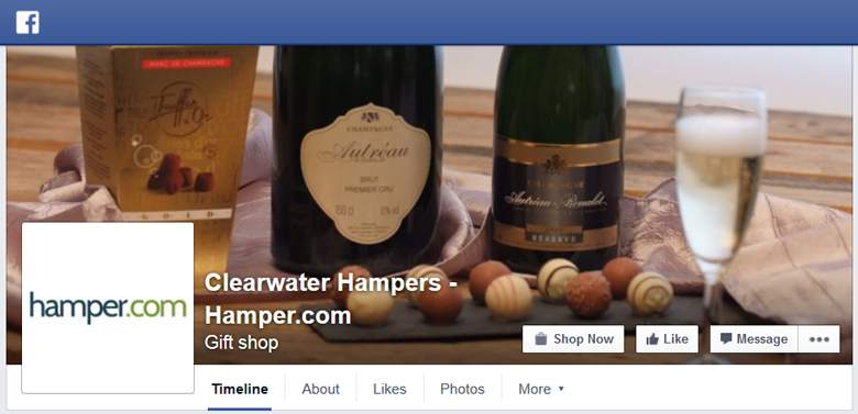 Hamper on Facebook