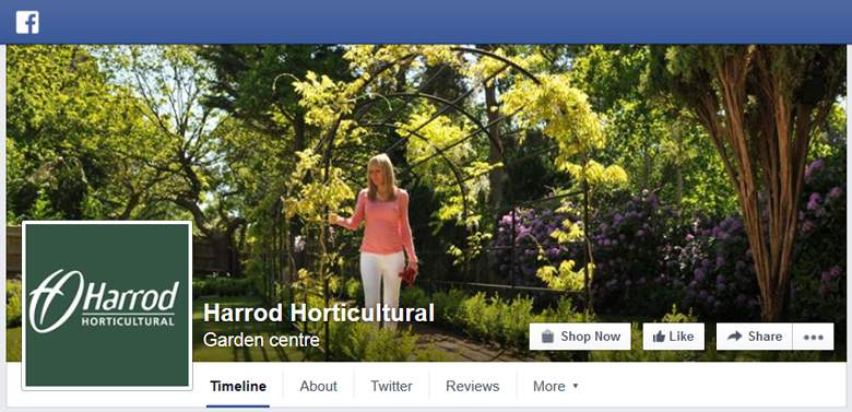 Harrod Horticultural on Facebook