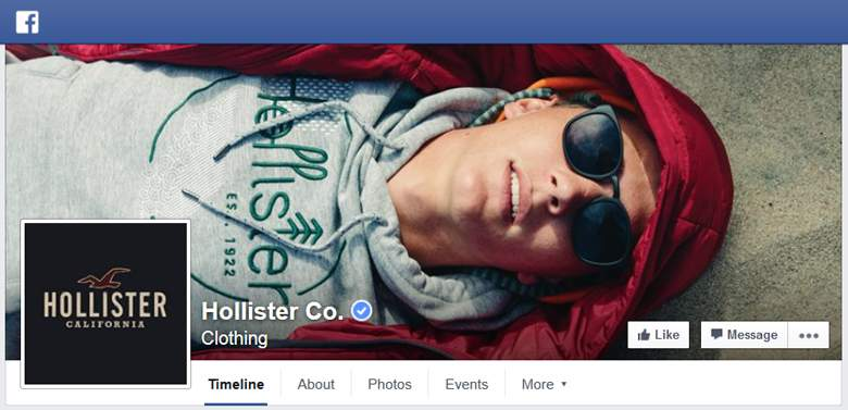 Hollister on Facebook