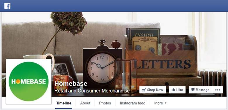 Homebase on Facebook