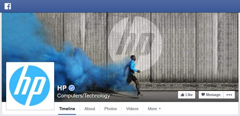 HP on Facebook