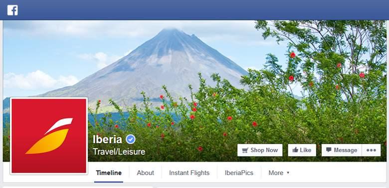 Iberia on Facebook