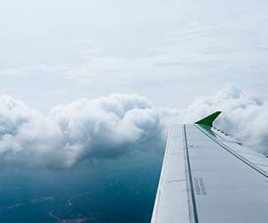 Flight with Iberia